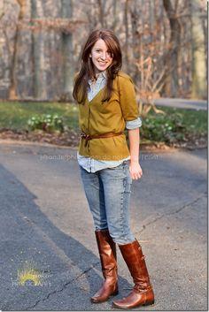 Love this girl and her style!  N. Virginia Photographer jillsamterphoto.com