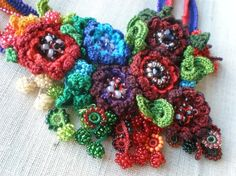 Ranunculus Hebecarpus... FreeForm Crochet por irregularexpressions