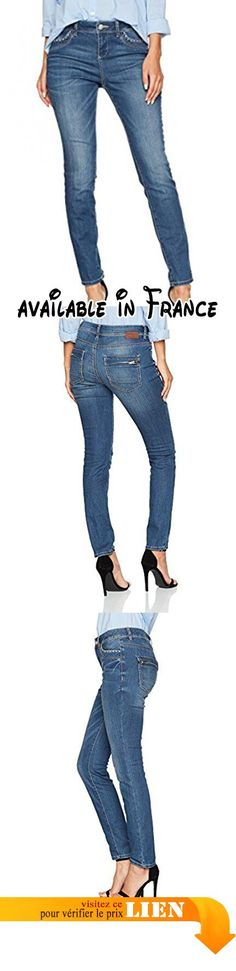 B073DCMKP4 : TOM TAILOR Relaxed Tapered Jean Boyfriend Femme Bleu (Mid Stone Wash Denim 1052) W32/L32 (Taille Fabricant: 32).