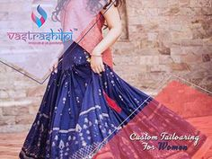 For Custom Tailoring for Women Reach Best Ladies Tailor in India at Vastrashilpi