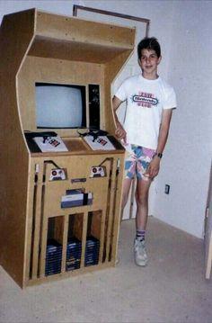 DIY retro arcade game