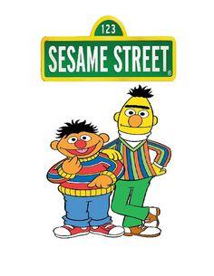 Sesame Street Bert & Earny Iron on Transfer by SAVVYCOUNTRYDESIGNS