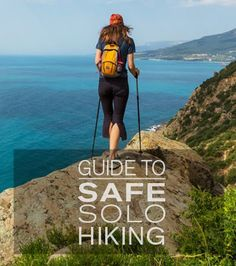 Get advice from a Sport Chalet Expert on how to make solo hiking a safe and rewarding experience. #outdoors #tothelimit
