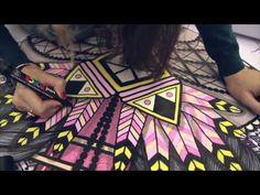 TANDEM, l'intimité géométrique de SupaKitch & Koralie - YouTube