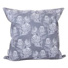 Sketchy Proteas Cushion - We Heart This