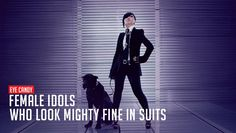 Eye Candy: Female idols who look mighty fine in suits | http://www.allkpop.com/article/2015/03/eye-candy-female-idols-who-look-mighty-fine-in-suits