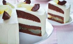 Wyrafinowana kombinacja: gruszki i czekolada Tiramisu, Cheesecake, Ethnic Recipes, Food, Cheesecakes, Essen, Meals, Tiramisu Cake, Yemek