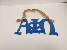 Alpha PHI Omega Letters Metal Wall Hanging | eBay