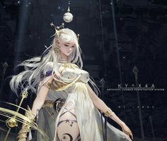 KY ^ take away art - Arylea - Anime 3d Fantasy, Fantasy Women, Fantasy Girl, Fantasy Artwork, Art Anime, Anime Art Girl, Manga Art, Fantasy Character Design, Character Inspiration