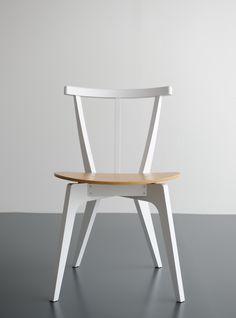 Beetle chair- white