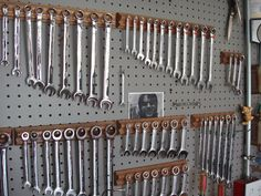 wrench tool organization