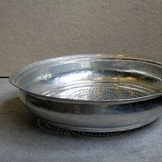 ANTIQUE COLANDER BOWL
