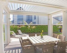 tredici outdoor blinds / straight drop awnings - Vanguard Blinds