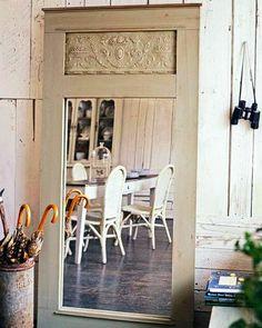 DAR UNA SEGUNDA OPORTUNIDAD A UNA PUERTA ANTIGUA | Decorar tu casa es facilisimo.com