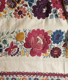 Traditional Moravian Embroidery