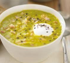 Pea and ham soup - Gordon Ramsay
