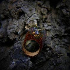 ForestDreamer / Drevený prsteň: Čaj s vílou