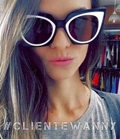 E o quanto adoramos a foto da nossa cliente ❤️❤️ Arrasou!! #Repost @valeria_megiani with @repostapp. ・・・ In love por óculos, mais um para a coleção #daparaperceber  #fendi #oticaswanny #clientewanny