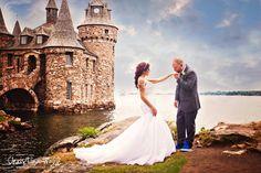 Boldt Castle - Heart Island - 1000 Islands - Wedding - Christina Wall Photography