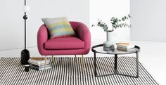 Give Your Living Space the Kiss of Life With a Colour-Popping Accent Chair