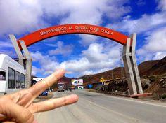 Saliendo de Lima en Triclio, uno de los puntos más altos de la Cordillera de los Andes rumbo a la #SelvaCentral #YTúQuéPlanes?  El post de la aventura en www.placeok.com