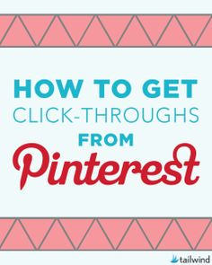 How To Get Click-Throughs from Pinterest michigan programmatic search test
