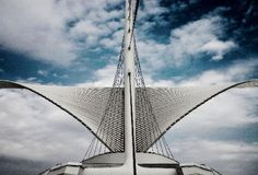 . Milwaukee Art Museum, Opera House, Building, Travel, Viajes, Buildings, Trips, Traveling, Tourism