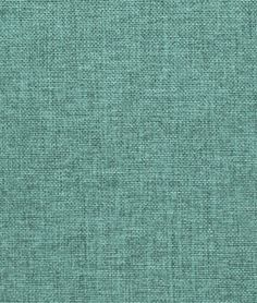 Sea Foam Blue Polyester Linen Fabric - $6.3 | onlinefabricstore.net -- re-upholstery fabric for sofa seat & gray back cushions