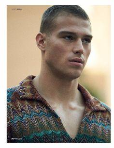 Male Model Scene MATTHEW NOSZKA (D'Scene Magazine)