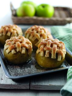 Stuffed Surprise Bramley Apples recipe by Bramley #Apples. . Serves 4. Find more great #Desserts, Hot Puddings #recipes at Kitchen Goddess.