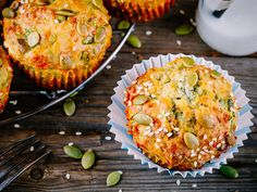 Get organised and sort out a week's worth of breakfasts with these scrumptious spinach and feta muffins. Make the most of Australia's southern spinach and throw them in these cheesy, green muffins. Vegetarian Taco Filling, Vegetarian Tacos, Veggie Recipes, New Recipes, Vegetarian Recipes, Healthy Recipes, Spinach And Feta Muffins, Winter Savory, Sweet Potato Pancakes