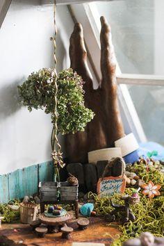 DIY Grandma's Fairy Garden