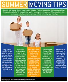 Summer Moving Tips