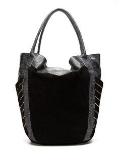 Ah, beautiful tote. If only you had a closure...House of Harlow 1960 Phoenix Tote