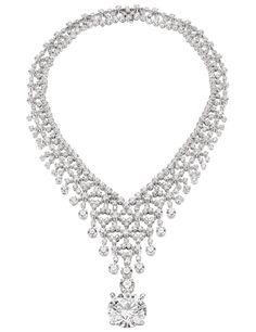 Bulgari Diamond necklace with 44.46 carats