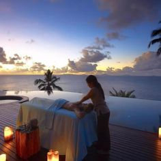 sunset massage...