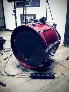 Shooting UNA recording @ Duna Studio