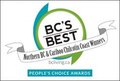 People's Choice Awards Winners Northern BC and Cariboo Chilcotin Coast