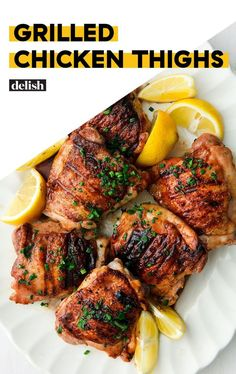 Honey Balsamic Grilled Chicken Thighs Give All Other Chicken Thighs A Run For Their MoneyDelish