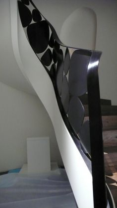 Patinated Bronze Banister by the French 'master of wrought iron', Eric Schmitt