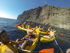 Mil gracias a tod@s los que esta semana santa disfrutaron con nosotros de los Acantilados de #LosGigantes! Los esperamos pronto! Pueden encontrar todas las fotos en nuestro Facebook | A huge thank you to everybody that joined us this easter weekend #kayaking Los Gigantes. We hope to see you again very soon.  You can find all of the photos in our Facebook | #KayakLosGigantes #Kayak #kayakDeMar #AbequeTurismoActivo #AbequExperiences #twitter #Tenerife #Teneriffa