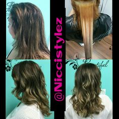 Huge project. Color correction. Dark brown (level 2-3) with highlights turned light brown (level 5-6) ombre :) i love it.