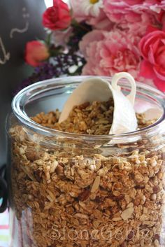 StoneGable: StoneGable Granola - unbelievable - my go-to granola recipe now! bb