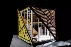"Шоу-рум ""N-Studio"": архитектура, фотография, 2 эт   6м, офис, администрация, 0 - 100 м2, фасад - дерево, макет, фасад - стекло, футуризм, цветная фотография, архитектурная фотография #architecture #photo #2fl_6m #office #administration #0_100m2 #facade_wood #layout #model #miniature #facade_glass #futuristic #colorphoto #architecturalphotography arXip.com"