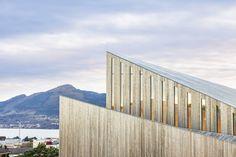 Nieuwe kerk als 'landmark' voor Noors dorp - architectenweb.nl