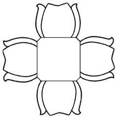 32 Melhores Imagens De Forminhas Paper Flowers Flower Stencils E