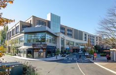 """Lewis has performed a series of ongoing projects at University Village, upgrading this upper-market """"lifestyle"""" retail center. Retail Architecture, Multi Story Building, University, Street View, Lifestyle, Projects, Log Projects, Commercial Architecture, Blue Prints"""