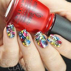 Copycat Claws: Sunday Stamping - Abstract