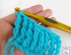 How To Crochet the Double Treble Crochet Stitch (dtr) Photo + Video Tutorial