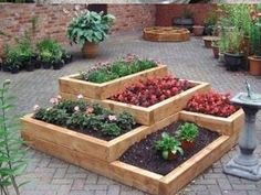 Elevated Garden Bed Designs 20 unique fun raised garden bed ideas This Is What I Need On My Unused Parking Pad In The Back Tiered Raised